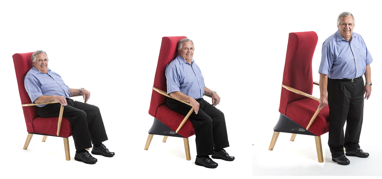 SeatUp Fåtöljen som hjälper dig upp